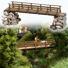 גשרון עץ להולכי רגל