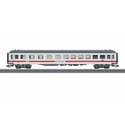 קרון נוסעים של רכבת מהירה Intercity למחלקה 1 ומסעדה של רכבת גרמנית (DB AG)