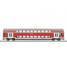 קרון נוסעים דו-קומתי למחלקה ראשונה ושניה של הרכבת הגרמנית (DB AG)