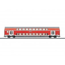 קרון נוסעים דו-קומתי למחלקה שניה של הרכבת הגרמנית (DB AG)