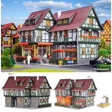 בית מגורים עירוני עם קונדיטוריה בקומת קרקע