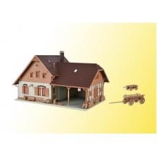 מבנה של חווה חקלאית