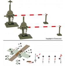 מחסום רכבת מופעל חשמלית