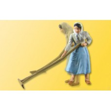 דגם מופעל חשמלית של אישה חקלאית