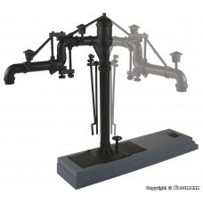 עמוד עם הפעלה חשמלית למילוי מים לקטרי קיטור