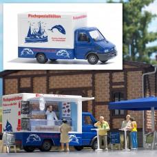 רכב מסחרי לממכר מאכלי דגים