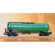קרון מיכל של הרכבת גרמנית (DB) להובלת חומרים דליקים