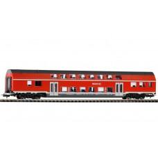 קרון נוסעים דו-קומתי למחלקה 2 של הרכבת הגרמנית (DB AG)