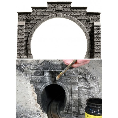 כניסה למנהרה עבור מסילה כפולה