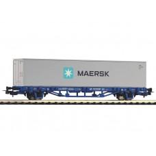 קרון משא שטוח להובלת מכולות של הרכבת הפולנית (PKP Cargo)