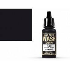 צבע Wash בגוון שחור – Black Wash