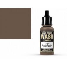 צבע Wash בגוון חום אדמה – Umber Wash