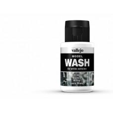 צבע Wash בגוון לבן – White
