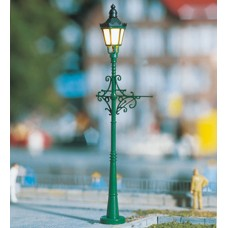 עמוד היסטורי של תאורת רחוב