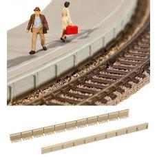 קנטים גמישים לרציף של תחנת רכבת
