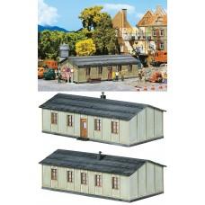 מבנה מגורים זמני לפועלי רכבת