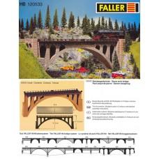 דגם של גשר לרכבת