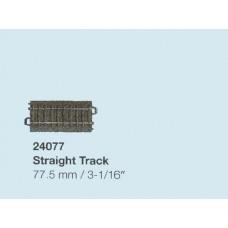 """מסילה ישרה באורך 77.5 מ""""מ"""