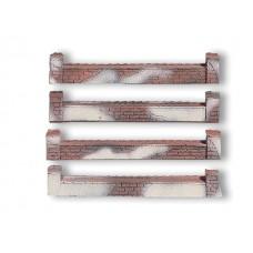 גדר בנויה מלבנים