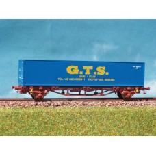 קרון משא שטוח להובלת מכולות של הרכבת האיטלקית (FS)
