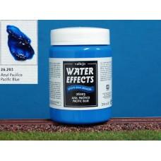 חומר להדמיית מים בגוון האוקיאנוס השקט - Pacific blue