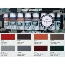 ערכת 8 צבעים – Panzer Aces מס' 1