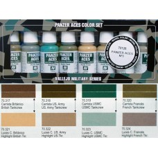 ערכת 8 צבעים – Panzer Aces מס' 3