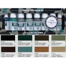 ערכת 8 צבעים – Panzer Aces מס' 5
