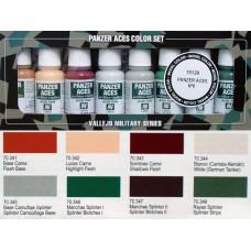 ערכת 8 צבעים – Panzer Aces מס' 6