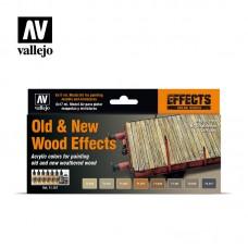 ערכת 8 צבעים לצביעת אפקטי עץ חדש וישן