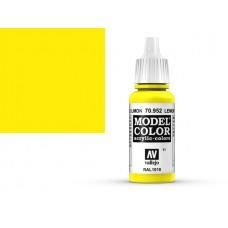 צבע בגוון צהוב לימון - lemon yellow