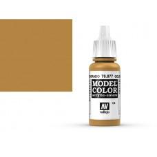 צבע בגוון חום זהוב - Gold Brown