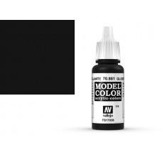 צבע בגוון שחור מבריק - Glossy Black