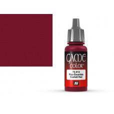 צבע בגוון אדום ארגמן - Scarlet Red