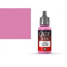 צבע בגוון ורוד דיונון - Squid Pink