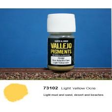 פיגמנט בצבע חום-צהוב בהיר