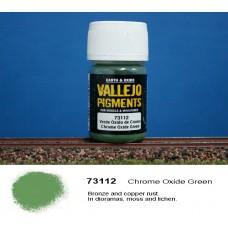 פיגמנט בצבע ירוק
