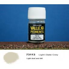 פיגמנט בצבע אפור-צהבהב בהיר