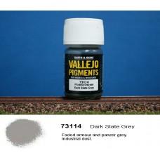 פיגמנט בצבע אפור-צהבהב כהה
