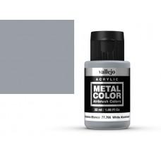 צבע בגוון אלומיניום לבן - white aluminium