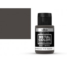 צבע בגוון ברזל שרוף - burnt iron